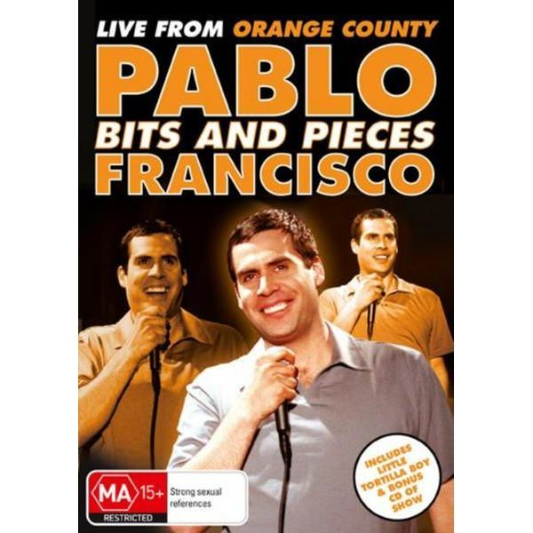 Pablo Francisco: Bits & Pieces on DVD