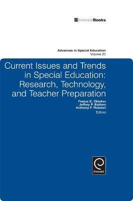 Current Issues and Trends in Special Education image