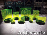 Infinity: Sizing Template Set with Bases - (Green)