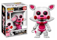 Five Nights at Freddy's - Funtime Foxy (Flocked) Pop! Vinyl Figure image