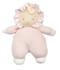 Bunnies By The Bay: Baby Curl - Doll With Rattle