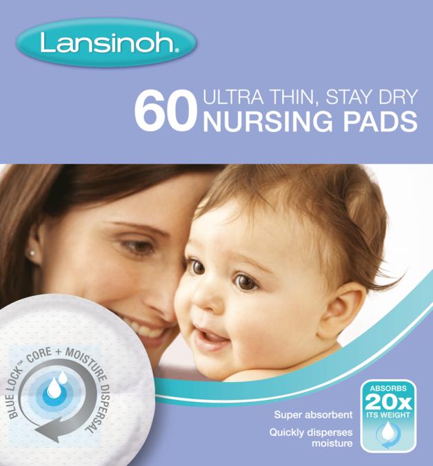 Lansinoh: Disposable Breastfeeding Nursing Breast Pads (60s)