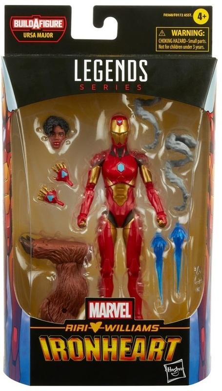 "Marvel Legends: Ironheart - 6"" Action Figure"