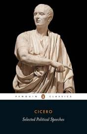 Selected Political Speeches by Marcus Tullius Cicero image
