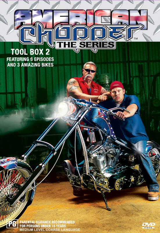 American Chopper: The Series - Tool Box 2 (Discovery Channel) on DVD