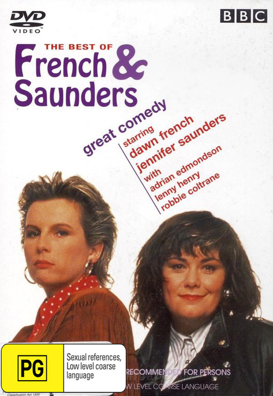 The Best Of French & Saunders on DVD