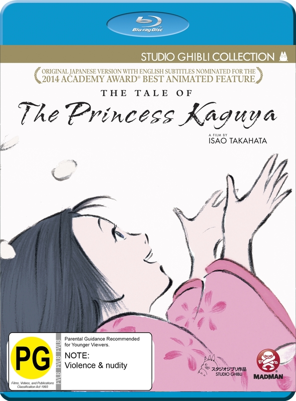 The Tale Of The Princess Kaguya on Blu-ray
