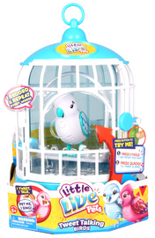 Little Live Pets S2 Bird with Cage - Snow Flake