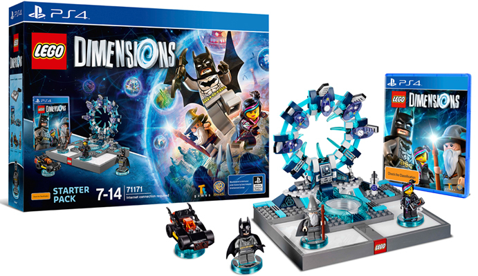 LEGO Dimensions Starter Pack for PS4 image