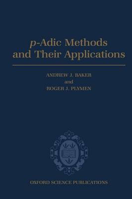 p-Adic Methods and Their Applications image