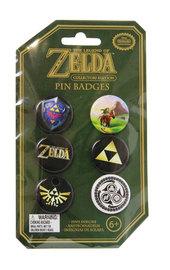 Legend of Zelda - Pin Badge Set