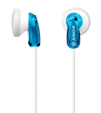Sony: MDR-E9LP Earbud Headphones - Blue