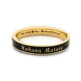 Disney The Lion King Hakuna Matata Bangle - Gold