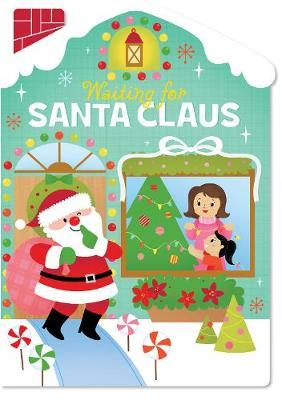 Christmas House Board Book Waiting for Santa Claus image
