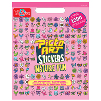 PictoArt: Nature Fun - Stickers Book