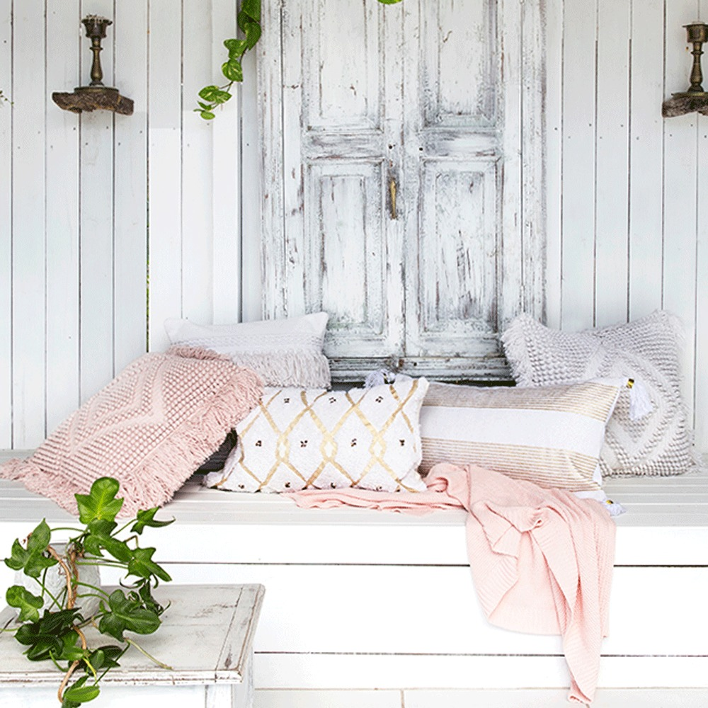 Bambury Panama Cushion Cover (Gold) image