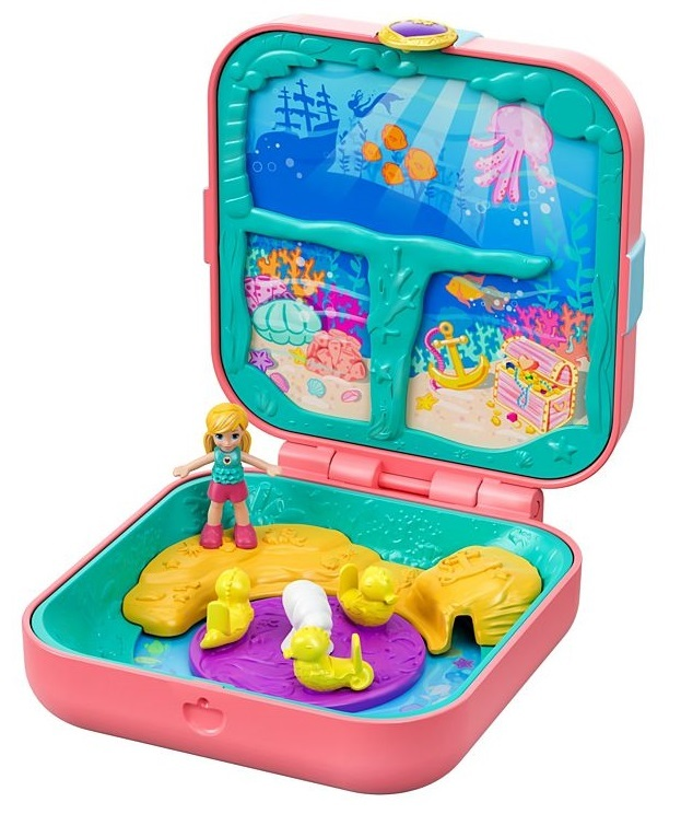 Polly Pocket: Hidden Hideouts - Mermaid Coves