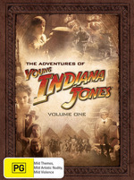 Adventures Of Young Indiana Jones, The - Vol. 1: (12 Disc Box Set) on DVD