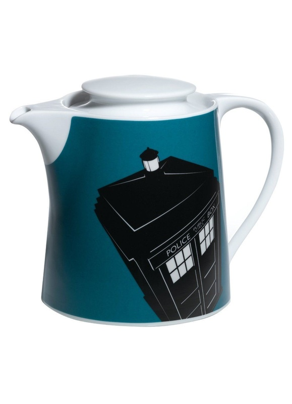 Doctor Who: Tardis Ceramic Teapot (1.5L)
