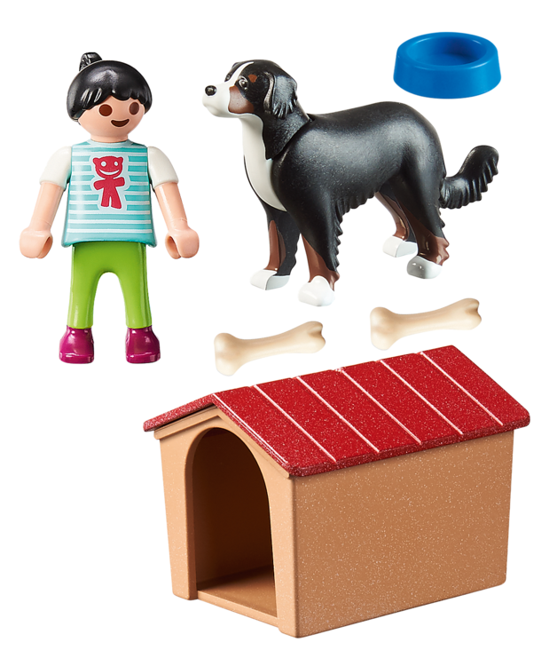 Playmobil: Country - Dog with Doghouse (70136)