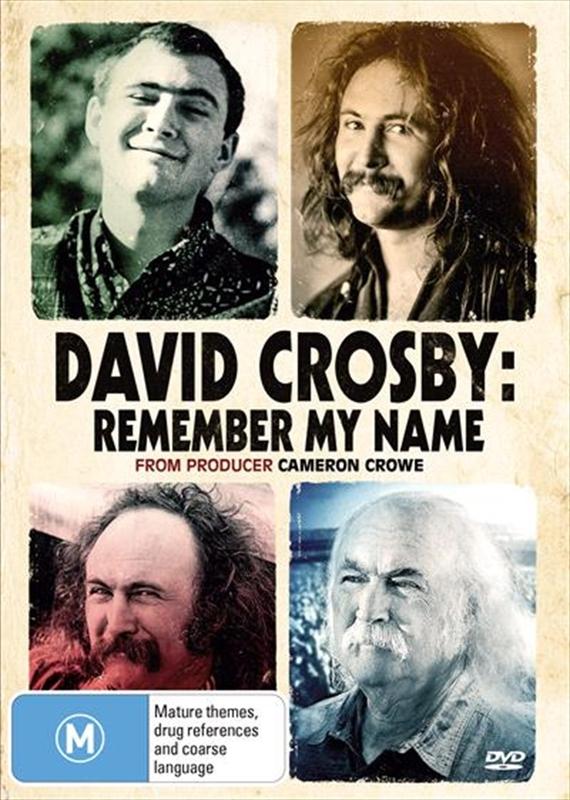 David Crosby: Remember My Name on DVD