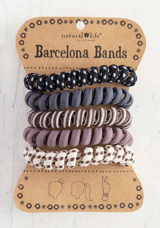 Natural Life: Barcelona Bands - Paracord Grey