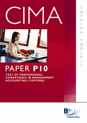 CIMA - TOPCIMA: Toolkit by BPP Learning Media image