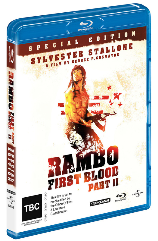 Rambo - First Blood 2 Special Edition on Blu-ray
