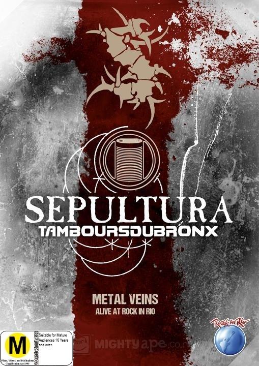 Sepultura: Metal Veins Alive at Rock in Rio on DVD