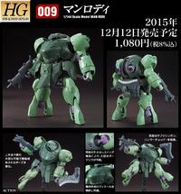 HG 1/144 Man Rodi - Model Kit image
