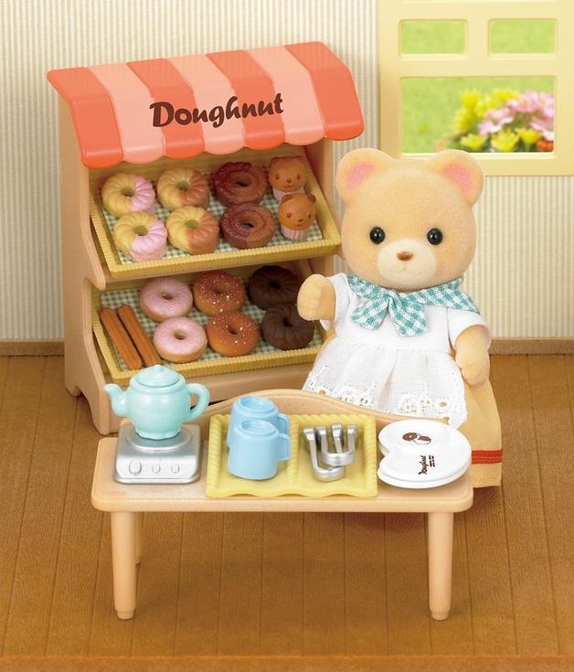 Sylvanian Families: Doughnut Store Set