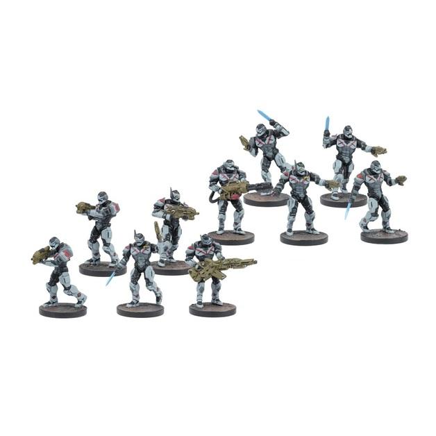 Deadzone Enforcers Strike Squad
