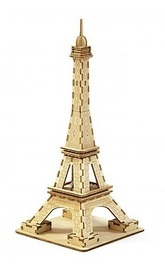 Ki-Gu-Mi: 3D Puzzle - Eiffel Tower (Small)