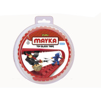 Mayka: Small Construction Tape - Red (1M)