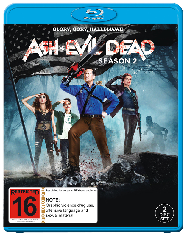 Ash Vs. Evil Dead - Season 2 on Blu-ray