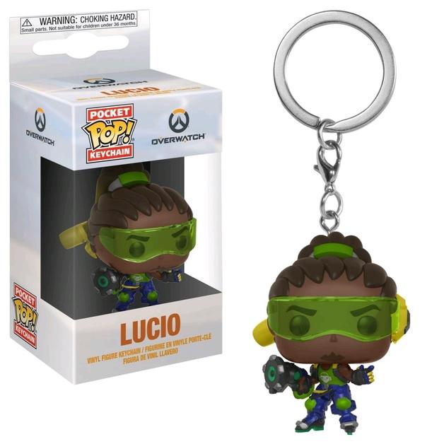 Overwatch - Lucio Pocket Pop! Keychain