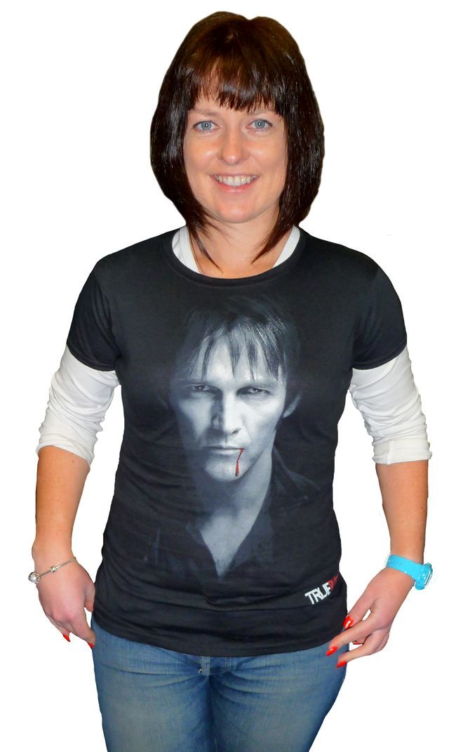 True Blood: Bill Compton Portrait T-Shirt - Medium image