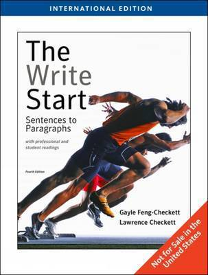 The Write Start with Readings: Sentences to Paragraphs by Lawrence Checkett