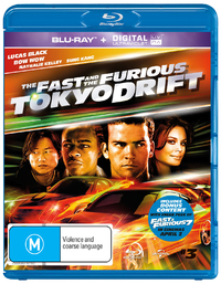 The Fast And The Furious: Tokyo Drift UV on Blu-ray