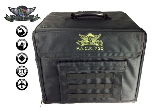 P.A.C.K. 720 Molle Pluck Foam Load Out (Black)