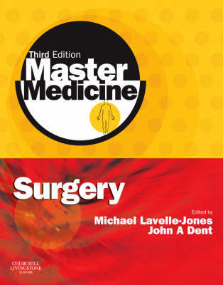 Surgery: A Core Text with Self-Assessment by Michael Lavelle-Jones image