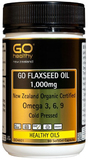 Go Healthy GO Flaxseed Oil 1000mg (90 Capsules)
