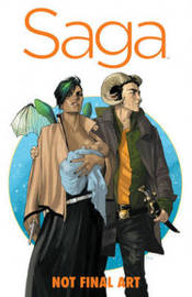 Saga Book One by Brian K Vaughan