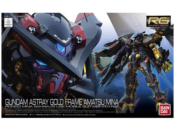 RG 1/144 Gundam Astray Gold Frame Amatsu Mina - Model Kit