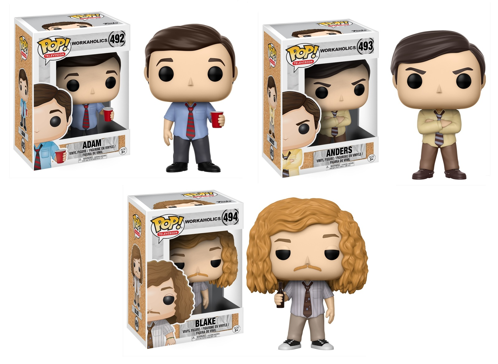 Workaholics – Pop! Vinyl Bundle image
