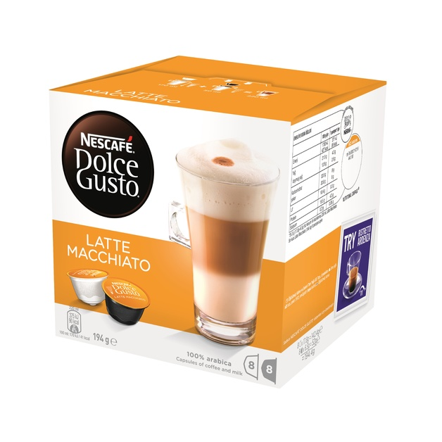 Nescafe Dolce Gusto (Latte Macchiato, 8pk)