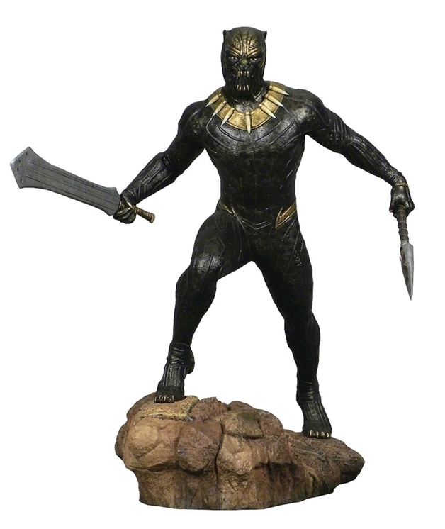"Marvel Gallery: Erik Killmonger - 10"" Statue"