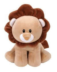 Ty Baby: Brown Lion - Small Plush