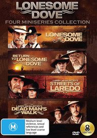 Lonesome Dove: Four Mini-Series DVD Collection on DVD