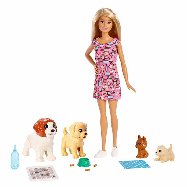 Barbie: Doggy Daycare - Doll Playset